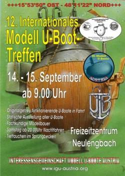 U-Boot-Treffen im Freibad