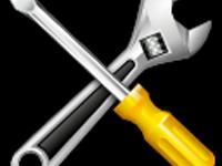 Reparaturarbeiten Rutsche